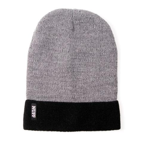 Czapka Beanie - Nuff wear - gray & black