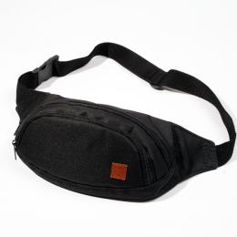Nuff Bum bag - black & black