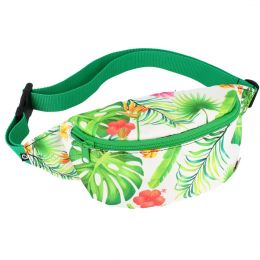 Nuff Fullprint womens fanny pack | Exotic Leaves
