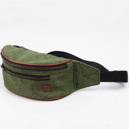Nuff Hike oxide bum bag - Military green