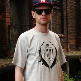 Nuff Wear T-shirt - Logo - gray
