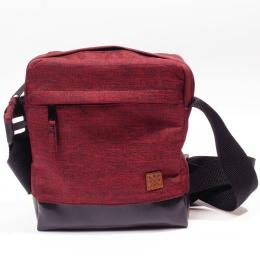Shoulder Bag / Small Messenger - Nuff wear - crimson