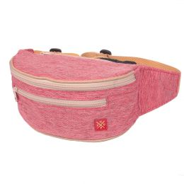 Nuff Hike bum bag - Pale Red melange