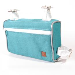 Nuff Classic frame bag | Turquoise