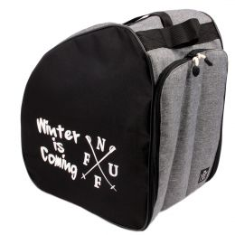 Nuff classic Ski Boot Bag Winter Is Coming | Gray