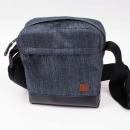 Shoulder Bag / Small Messenger - Nuff wear -blue melange