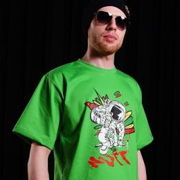 Tshirt - Nuff Spaceman 01113 - green