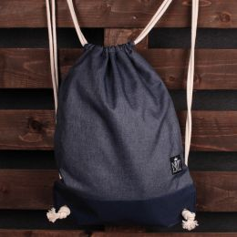 Nuff Tote backpack | Blue melange