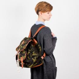 Nuff backpack - woodland & brown