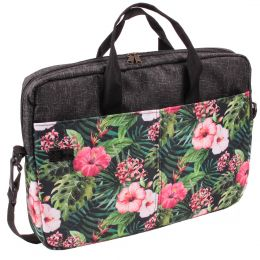 Nuff Tropical Flora Laptop Bag 15.6