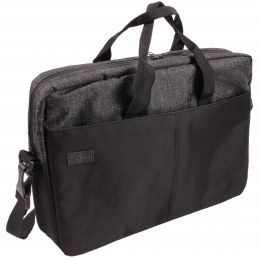 Nuff Black melange Laptop Bag 15.6