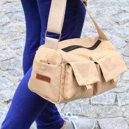 Shoulder Bag  Nuff wear - beige