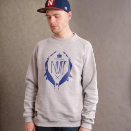 Nuff wear Classic fit sweatshirt - gray