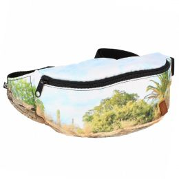 Nuff Allprint womens fanny pack - Palm