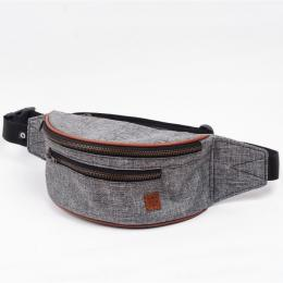 Nuff Hike oxide bum bag - Gray