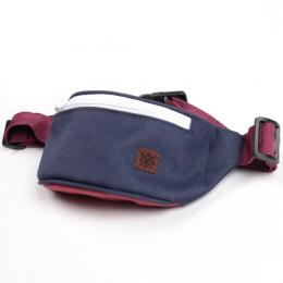 Nuff Kids hip fanny pack | Navy & Burgund