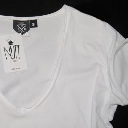 Top damski - Nuff College 0713 - white