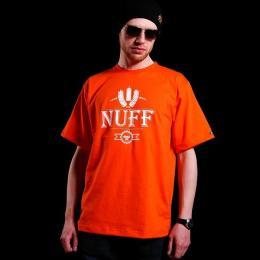 Tshirt męski - Nuff Wear spray 01613 - orange