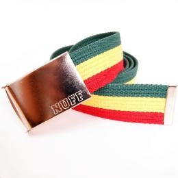 Nuff Wear belt - P0513 - rasta