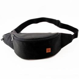 Nuff wear bum bag - black