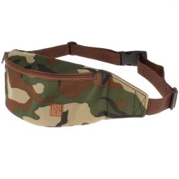Fanny pack Nuff Classic camo woodland